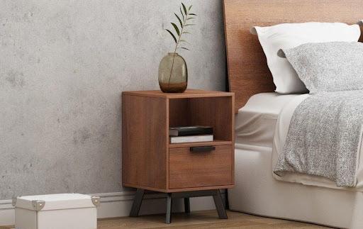 Kệ đầu giường gỗ sồi